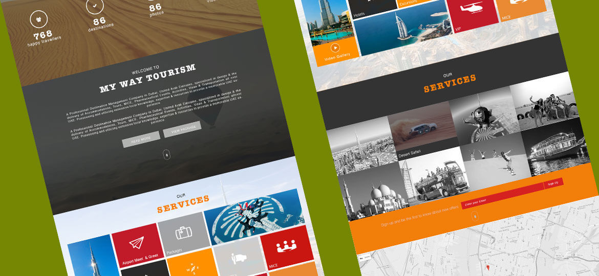 UAE Web Designer Website design 2