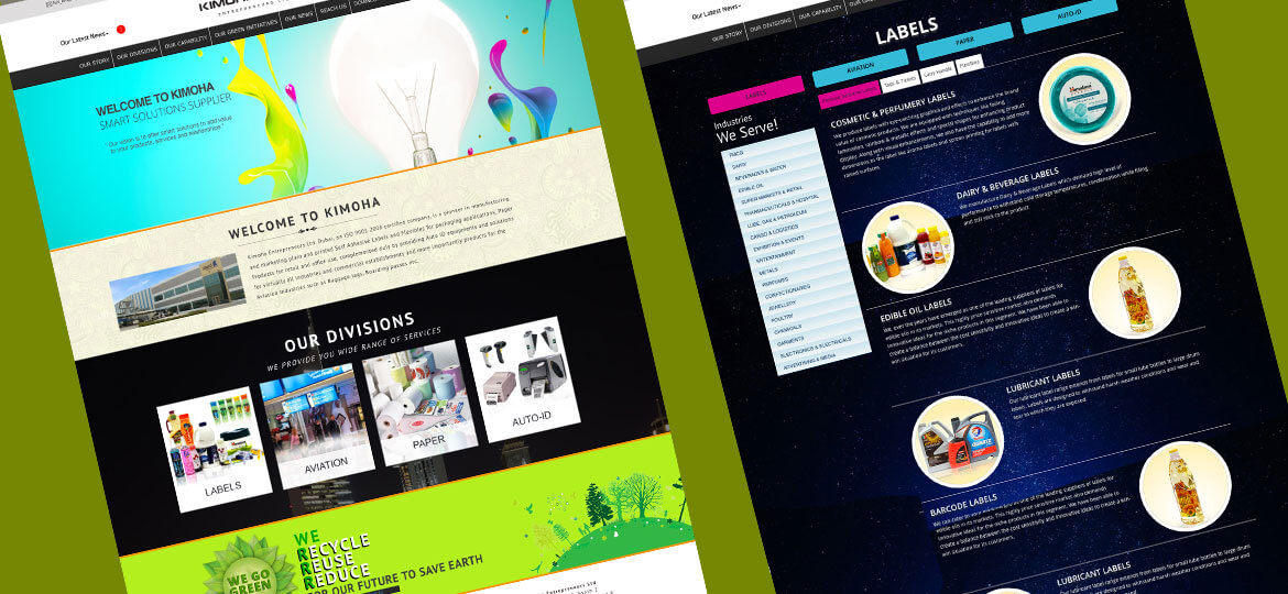UAE Web Designer Website design 3