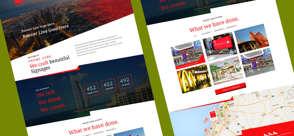 UAE Web Designer Website design 4