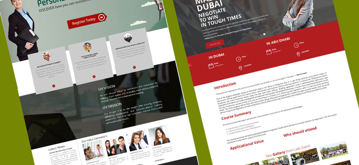 UAE Web Designer Website design 8